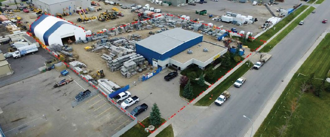 Industrial building for sub-lease in southeast Calgary & 7208 SF Industrial Office and Shop For Sub Lease | NAI Advent