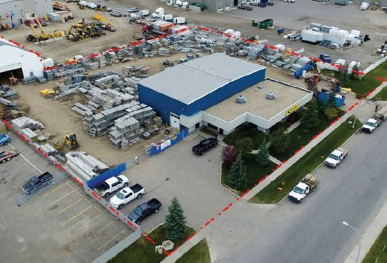 Industrial building for sub-lease in southeast Calgary