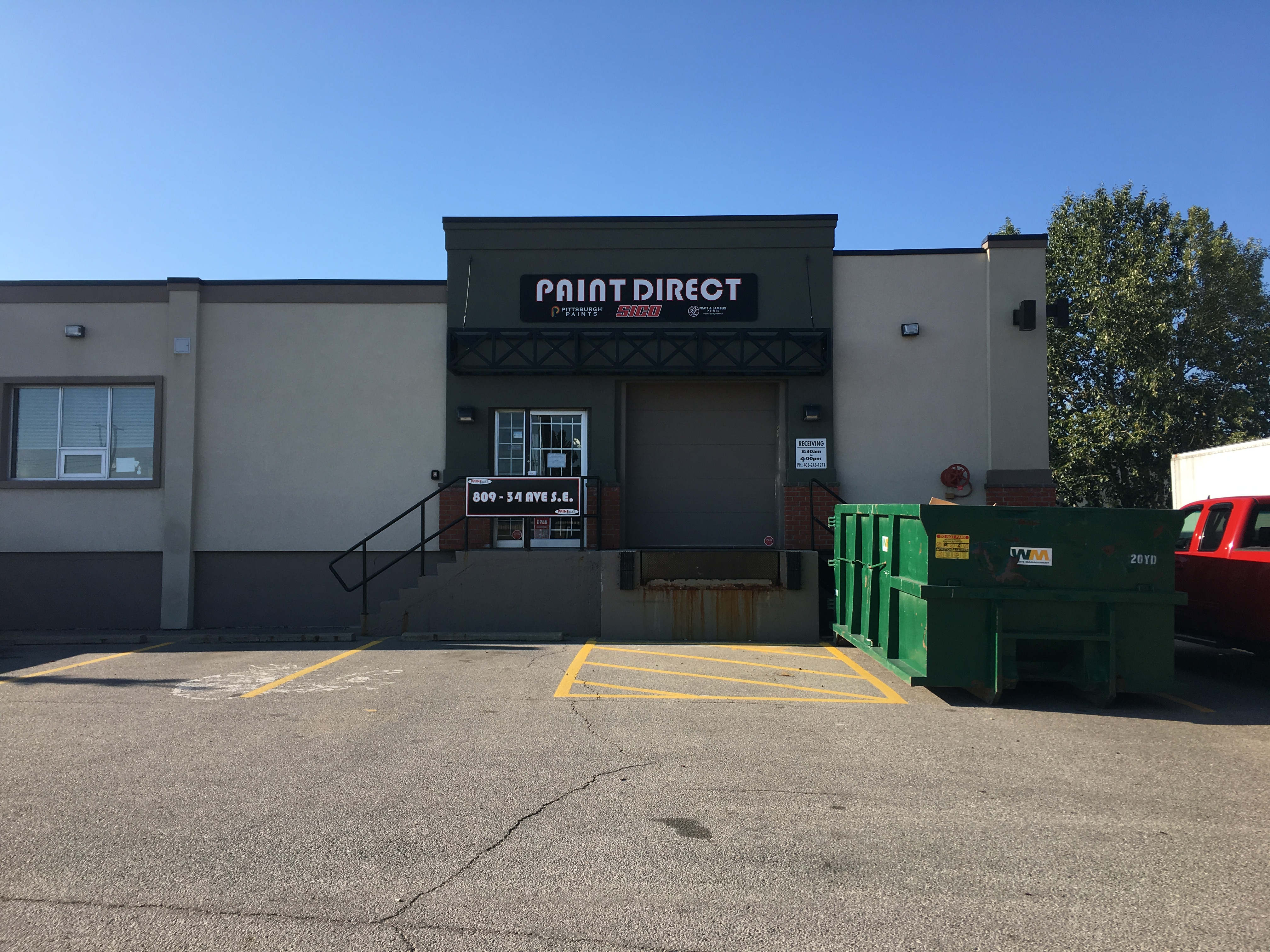 Industrial Bay With Showroom For Lease Calgary