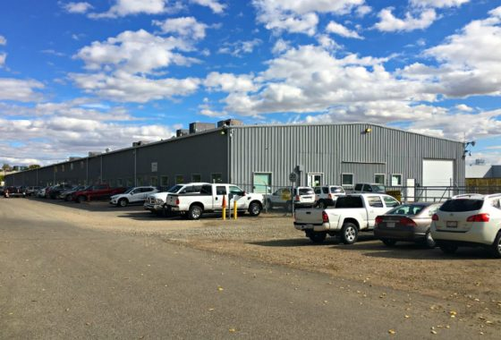 50,000 square foot industrial building