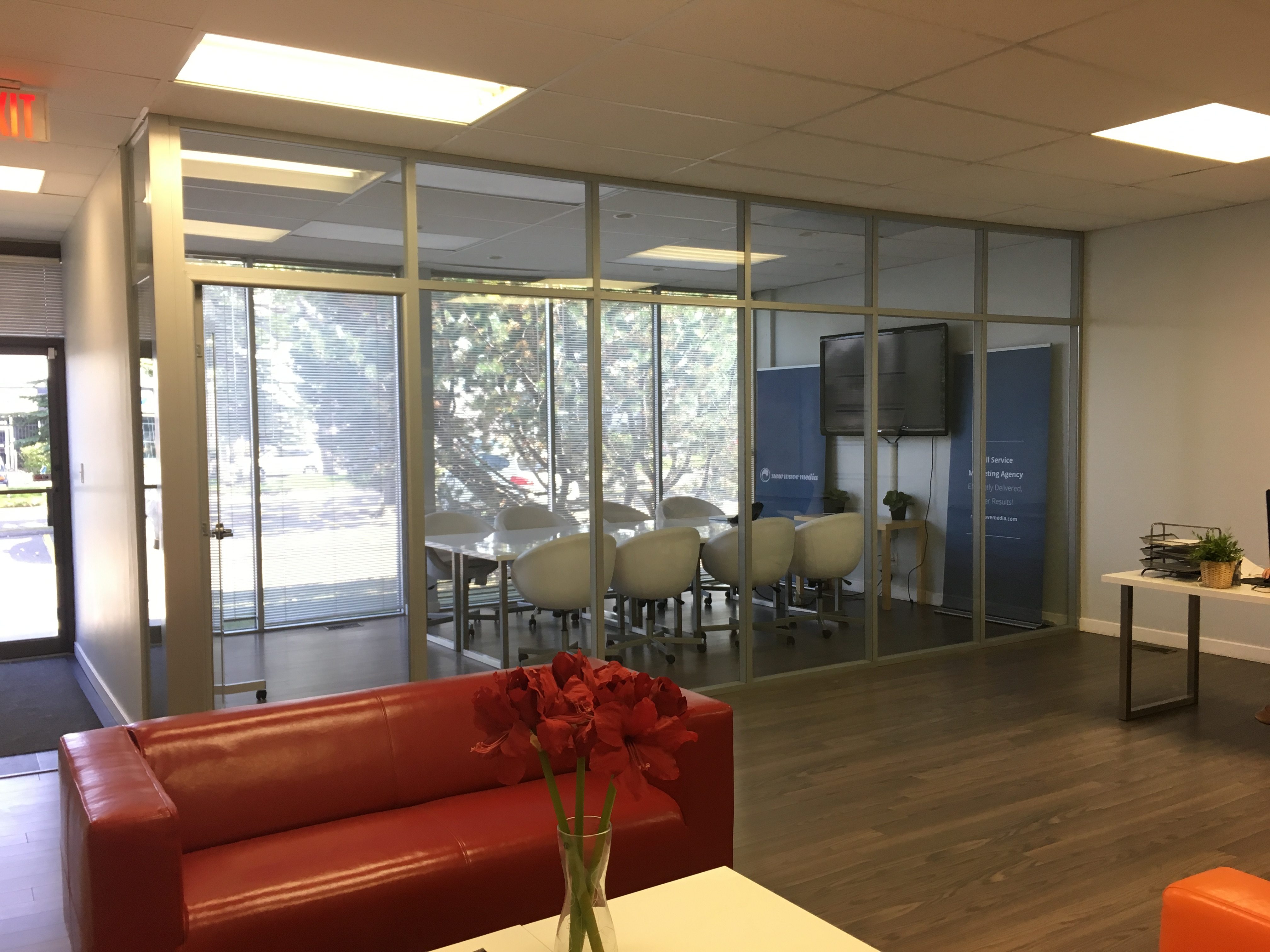Office Space with Boardroom For Lease in Calgary