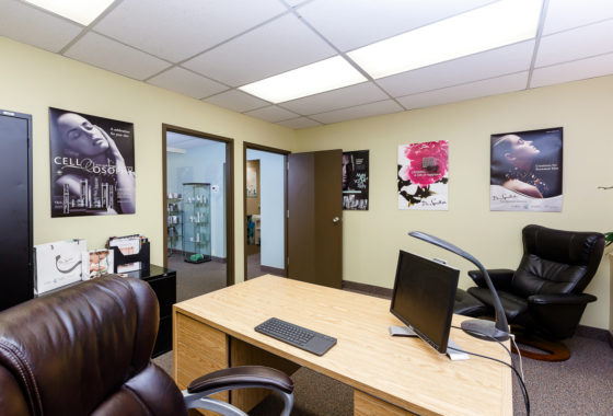 1000 square feet of office space