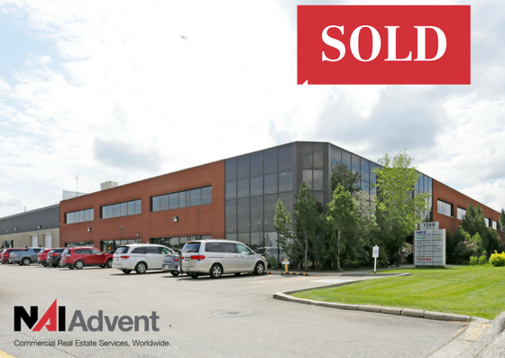 NAI Advent Negotiates $11.6 Million Sale of Flex-Commercial Building in Calgary, Alberta