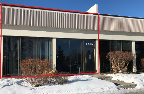 2,304 sq. ft. with a Good Mix of Office and Warehouse