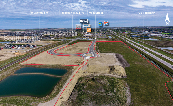 Commercial Development Land in Airdrie, Alberta